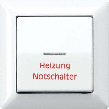 Jung AS590HWW Wippe Heizung Notschalter -
