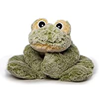 Inware Freaky Frog Lying Down Plush Soft Toy Cuddly, Various Sizes, Green/Yellow