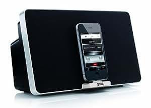 gear4 houseparty 4 evo dockingstation lautsprecher mit uk eu netzstecker adapter kompatibel mit. Black Bedroom Furniture Sets. Home Design Ideas