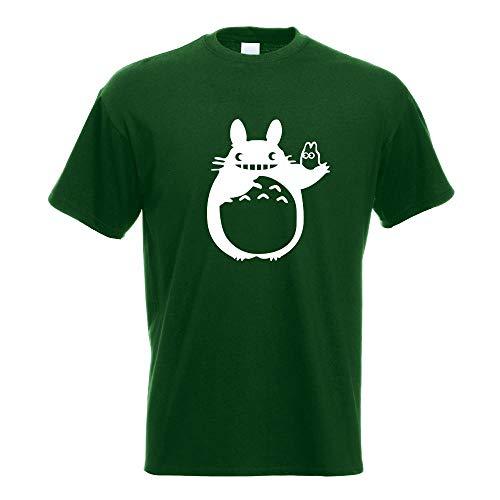 Kiwistar My Neighbor Totoro - Nachbar T-Shirt Motiv Bedruckt Funshirt Design Print