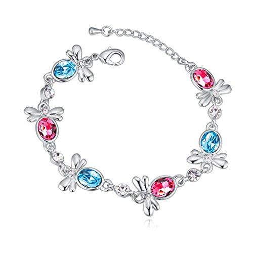 beydodo-bracelet-en-plaqu-or-blanc-pour-les-femmes-chain-braceletscristal-dautriche-abeille-bleu-rou