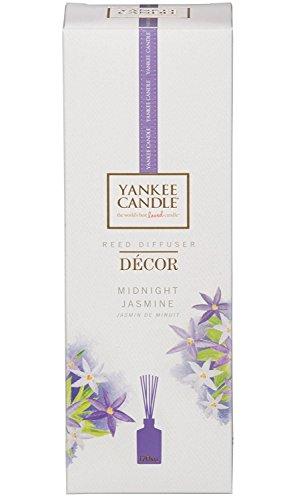 YANKEE CANDLE Diffuseur de Parfum « Signature » Jasmin de Minuit, Violet