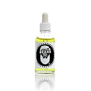 Duftsieger 2019 – Heisenbeard 3 in 1 Bartöl – Pablos Sun 50 ML – Sweet Woody – Pflege und Geschmeidigkeit – Stärkung der Barthaare – Designerduft – Made in Germany – Bartpflege – Beard oil
