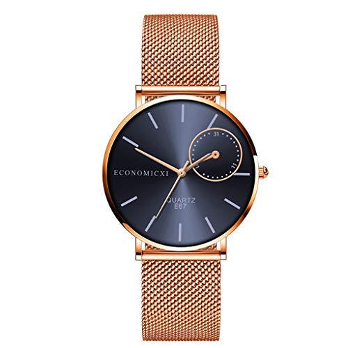 Uhren DamenArmbanduhr Fashion Chimes Diamond Sportuhr Lederarmband Watch Luxus Armband Exquisit uhr Klassisch uhr ABsoar