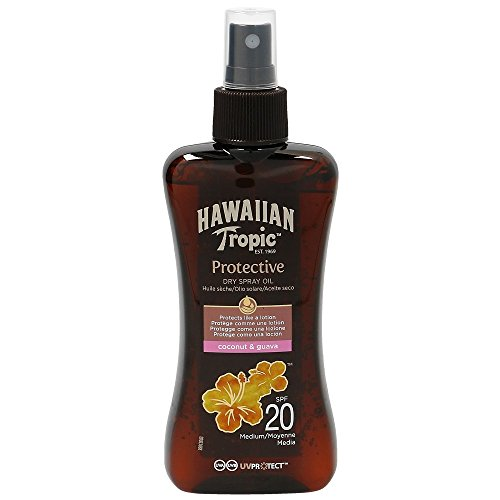Hawaiian Tropic Aceite Spray SPF20 - 200 ml