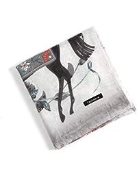 cdbee82c9a15a5 MNLXL Herbst Und Winter Kaschmir Verdickung Damen 130cm GroßE Quadratische  Blume Pferd Schal Schal