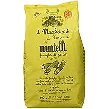 Martelli Pasta Maccheroni di Toscana - 4 Paquetes de 500 gr - Total: 2000 gr