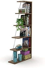 HomeCanvas RF160402 Canvas Modern Mini Book Shelves for Living Room or Study Room, Easy Assembly Book Shelf- W