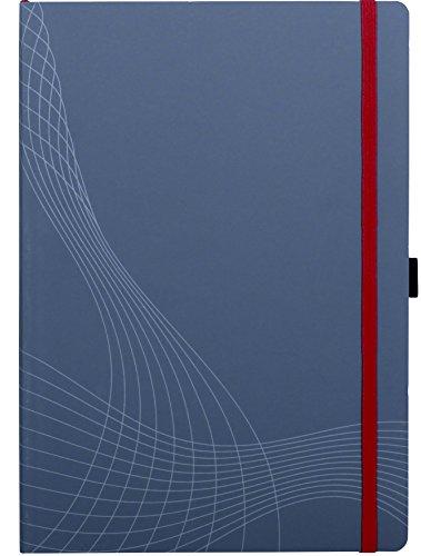 Avery 7020 - Cuaderno para apuntes A4, gris rayado