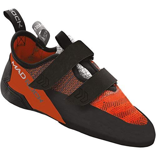 672b2db0f38082 Mad Rock Weaver Climbing Shoes Orange Black Shoe Size US 9