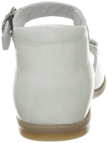 Little Mary Maryse, Chaussures premiers pas bébé fille Blanc (Apache Blanc)