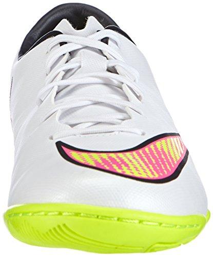 Nike Mercurial Victory V Ic, Football Compétition Homme blanc-rose-jaune