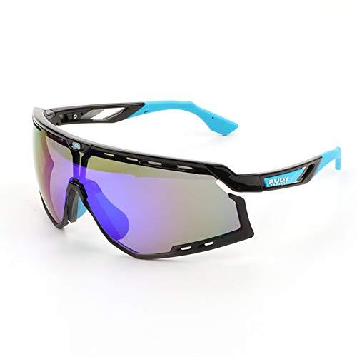 WeiJX Sport Polarisierte Sonnenbrille UV-Schutz Sonnenbrille Laufen Golf Angeln Wandern Baseball 0020 Fahren Sonnenbrille Shades für Männer Frauen,D
