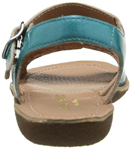 Start Rite Nostalgia, Sandales Fille Turquoise (Aqua Patent)