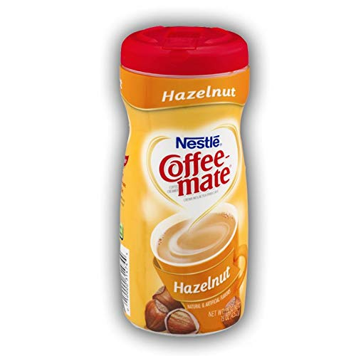 41XnKkXXd5L. SS500  - Nestle Coffee Mate Hazelnut 425g 150z