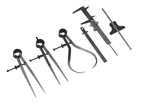 SEALEY ak10000Mess-Werkzeug Set 6-teilig