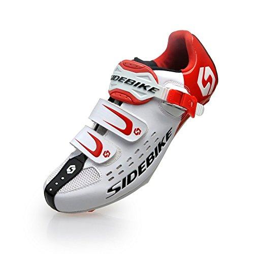 TXJ Unisexe Respirant Chaussures de vélo...