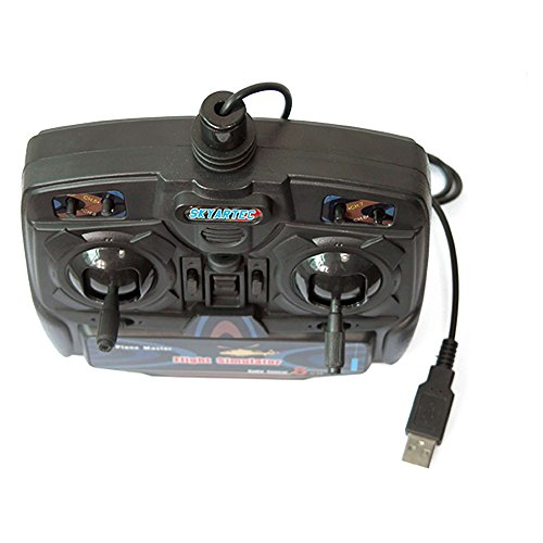 8-Kanal Fernbedienung USB Flugsimulator inkl. FSM Software - 4