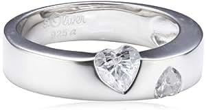 s.Oliver Damen-Ring Silber 925  Gr.52 400954