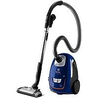 Electrolux UltraSilencer Origin Plus - Aspiradora silenciosa con bolsa y cepillo AeroPro Parketto Pro, color azul