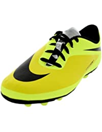 Nike Boy's Jr Hypervenom Phade Fg Vibrant Yellow, Black And Volt Sports Shoes -1.5 Kids UK/India (17 EU)(2C US)