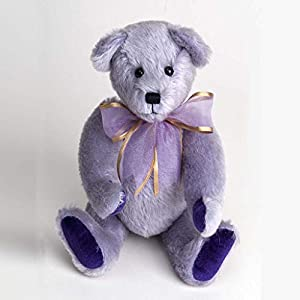 Canterbury Bears ltd 172 Iris Mohair - Oso de Peluche, Color Lila