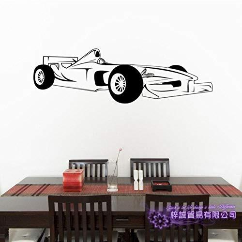 Olivialulu F1 Auto Aufkleber Auto Aufkleber Formel Racing Poster Vinyl Wand Aufkleber Aufkleber dekorative Wand Auto Aufkleber 25 * 80 cm anpassbar