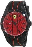 Scuderia Ferrari Reloj Analógico para Hombre de Cuarzo con Correa en Silicona 830540