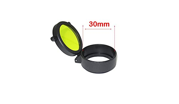 Huntiger flip open scope yellow cover wasserdichte und staubdichte
