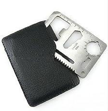 Kidsgenie Outdoor Multi Function Mini Emergency Survival Credit Card Camping Tool 11 in 1 (1)