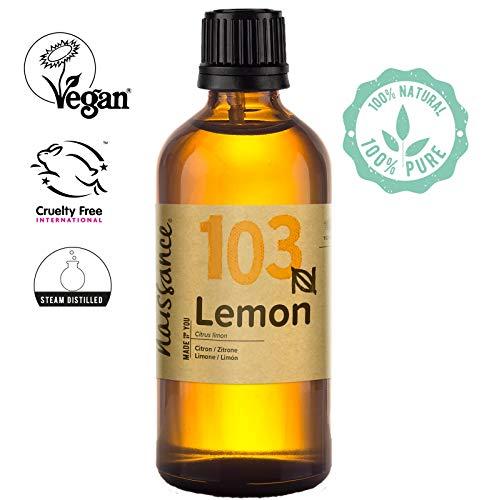 Naissance Olio di Limone - Olio Essenziale Puro al 100% - Vegano, senza OGM - 100ml