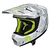 Scott 350 Evo Camo MX Enduro Motorrad/Bike Helm grau/gelb 2019: Größe: XL (61-62cm)