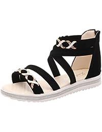 Eliware Footwear, Sandali donna, Blu (turchese), 36 EU