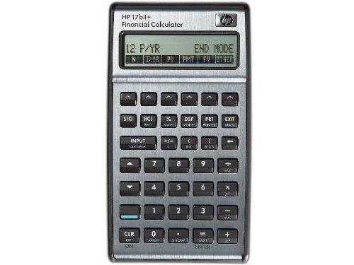 HP F2234A Calculatrice financière Mémoire 28 Ko 250 Fonctions intégrées Livrée avec pochette HP17bII+