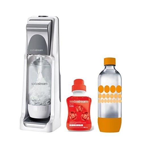 SODASTREAM - Pack Machine a soda COOL Titan + 1 Concentré cola + 1 bouteille Grand modele PET