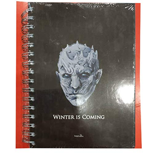 HAPPYMOTS Libreta A5 Winter is Coming