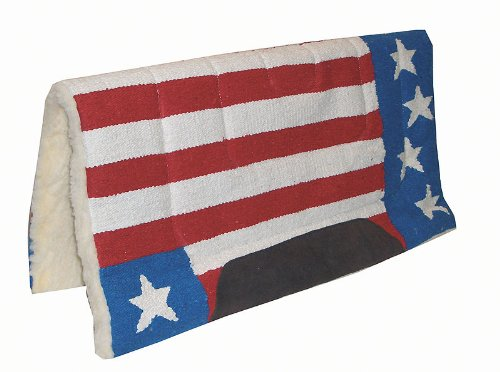 AMKA Stars Stripes Westernpad | Western Pad in Stars and Stripes Design