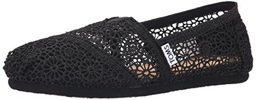 Toms Crochet Damen Halbschuhe - Toms Spitze Damen Schuhe