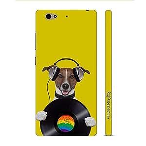 Enthopia Designer Hardshell Case DOG RECORD Back Cover for Gionee S6