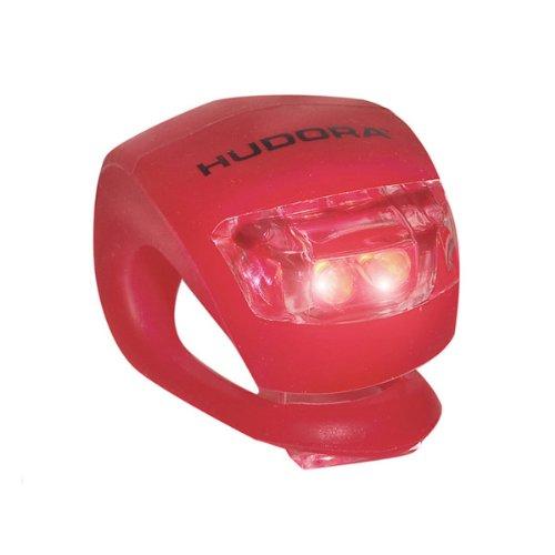 Hudora LED Licht f&uumlr Lenker Lenkerlicht f&uumlr Roller Scooter Cityroller Big Wheel 125 144 205 (ROT)