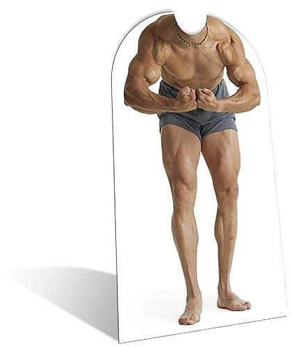Stand-In Muscle Man Cutout