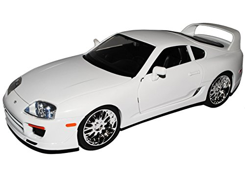 toyota-supra-weiss-brians-paul-walker-the-fast-and-the-furious-1-18-jada-modell-auto