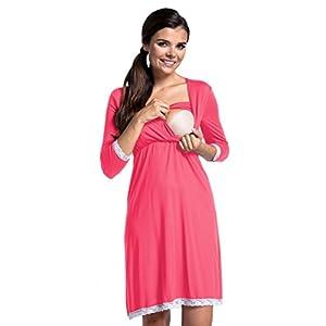 Zeta-Ville-Premam-CamisnBata-Pijama-Mezcla-Y-COMBINA-para-Mujer-591c-Camisn-Coral-EU-38-M