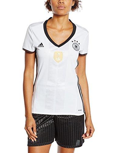 adidas Damen UEFA EURO 2016 DFB Heimtrikot Replica, weiß/schwarz, S, AA0137