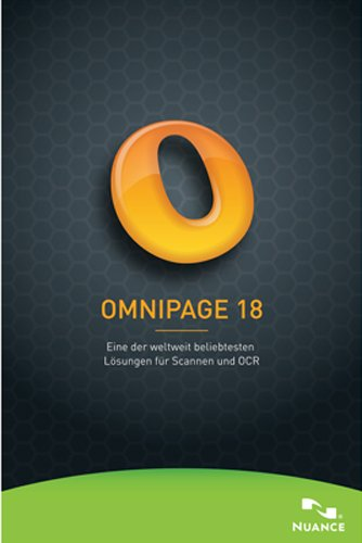Nuance Omnipage 18 Standard [Download] (Ocr-software)