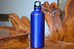Blue Birds Bottle Aluminium Sports Bottle for Office/Gym/College/Travel Water Bottle Eco Friendly with Carabiner Sporty Look (Multicolour)