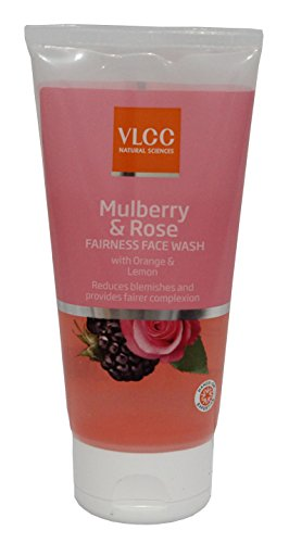 VLCC Mulberry & Rose Face Wash 150 ml Single  available at amazon for Rs.125