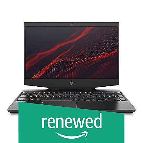 (Renewed) HP Omen Core i7 9th Gen 15.6-inch FHD Gaming Laptop (16GB/1TB HDD + 512GB SSD/Windows 10/NVIDIA GTX 1650 4GB Graphics/Shadow Black), 15-dh0135TX