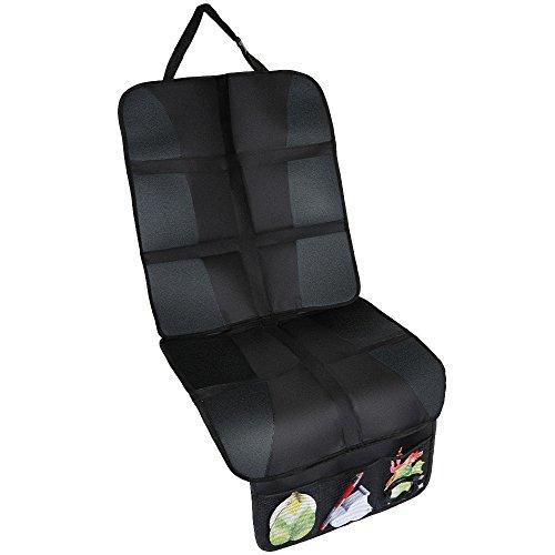 Rovtop Autositzauflage Auto-Kindersitzunterlage Organizer-Taschen Autositzschutz Autositzunterlage hochwertiger Autositzschoner in universeller Passform
