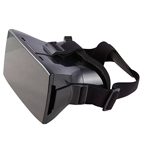 Andoer® Google Karton Kunststoff Version Virtual Reality DIY 3D Videobrille VR Bikonvexe Kopfhalterung Freisprecheinrichtungen für 4-6